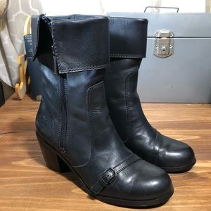 Harley-Davidson Women's Cuffed Leather Boots